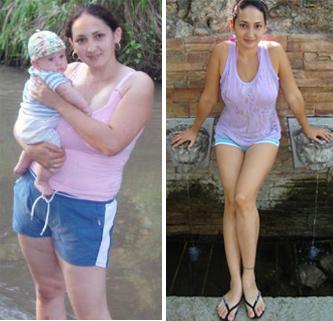 фото до и после диеты Елены Малышевой
