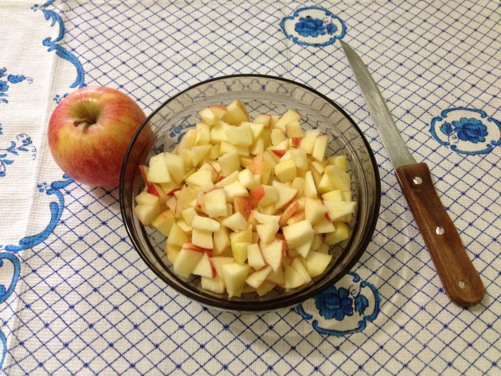 пироги с яблоками, мастер-класс
