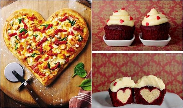подарок в виде еды на день святого валентина