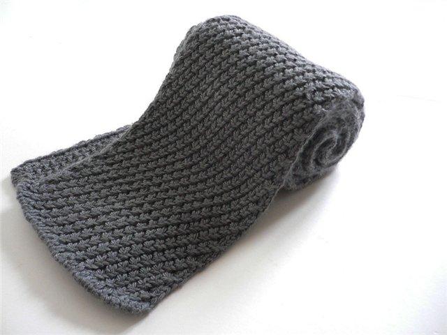 шарф своими руками в подарок на день святого валентина