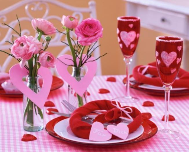 как отпраздновать день святого валентина 2015