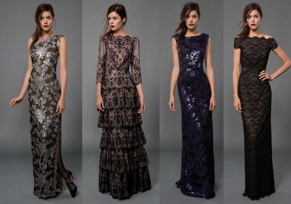 Длинное прямое платье из кружева