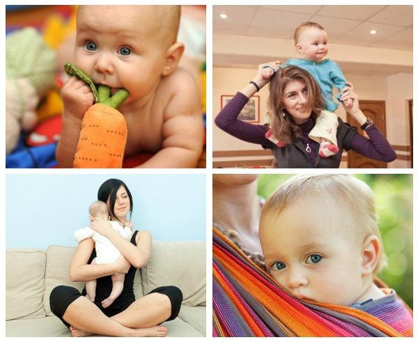 Как успокоить ребенка до года