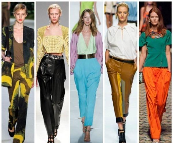 Модные Брюки 2015 Женские