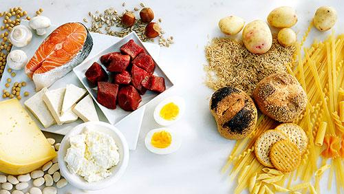 разделение белков и углеводов