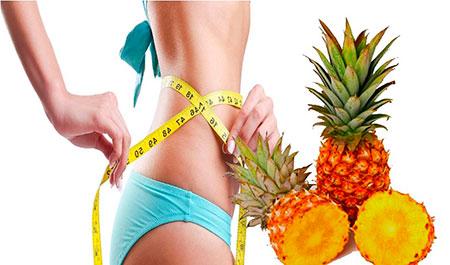 ананасовое диетическое питание