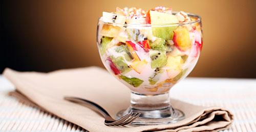 банановый фруктовый салат