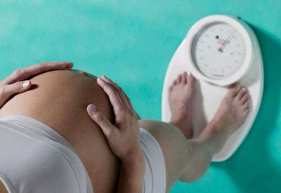 лишний вес у беременных