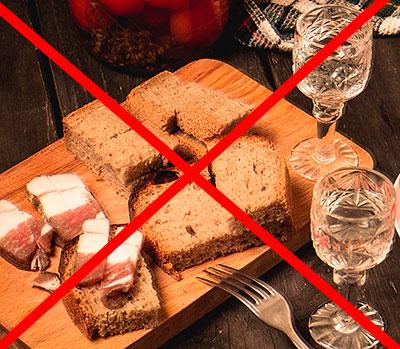 запрещенные продукты при белково овощной диете