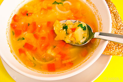 рецкпт вегетарианского супа