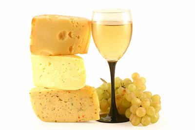 Вино при диете с сыром