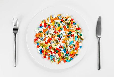 аптечные витамины при диете