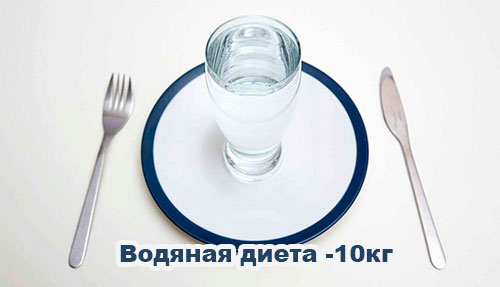 Водяная диета 10 кг за неделю