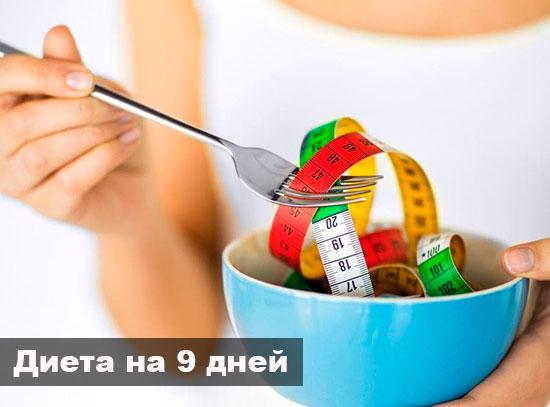диета 9 дней