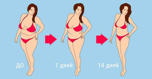 диета 10 кг за 2 недели